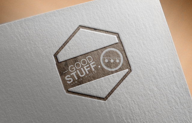 Free Logo Mockup PSD on Textured paper5.