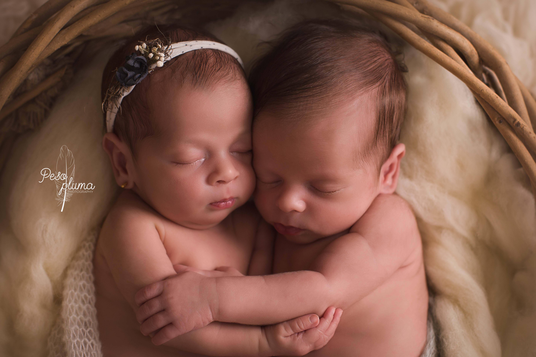 Fotografía newborn gemelos