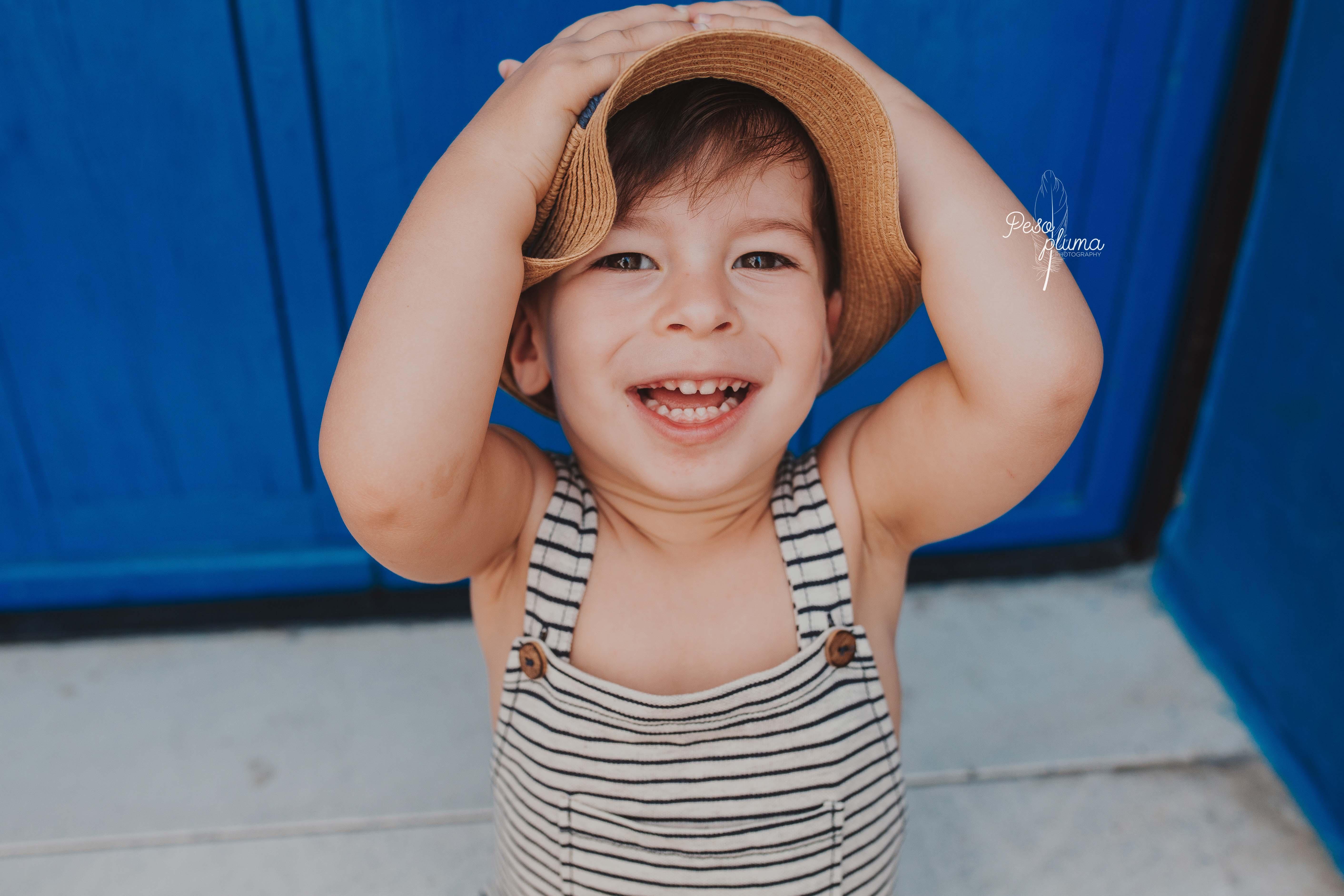 Fotografía infantil en Barcelona