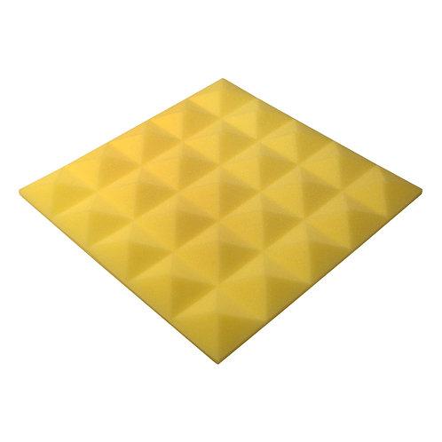 Акустическая панель Pyramid Gain Yellow 30 мм 45х45см