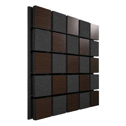 Акустическая панель Ecosound Tetras Acoustic Wood Brown 50x50см 33мм коричневый