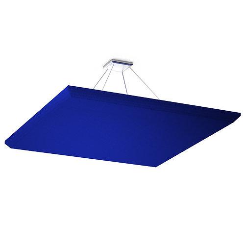 Акустическая подвесная звукопоглощающая панель Quadro Blue.