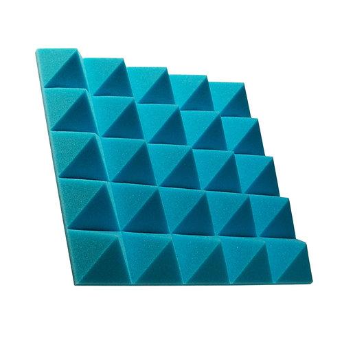 Акустическая панель пирамида Pyramid Gain Blue 70 мм 45х45см