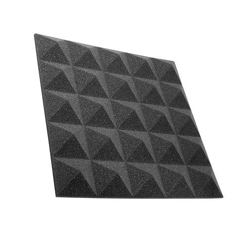 Акустическая панель пирамида Pyramid Gain Black 30 мм 45х45см