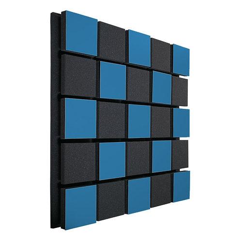 Акустическая панель Ecosound Tetras Acoustic Wood Blue 50x50см 33мм цвет синий