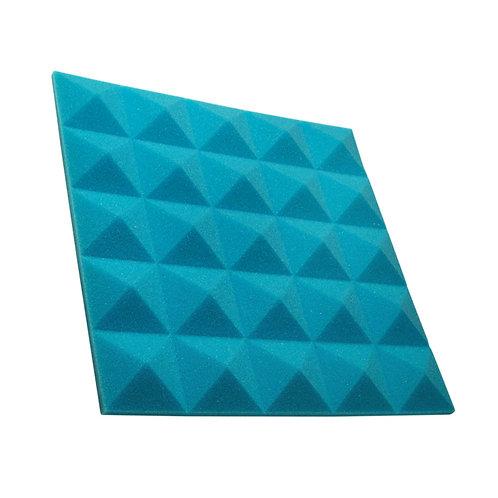 Акустическая панель пирамида Pyramid Gain Blue 30 мм 45х45см