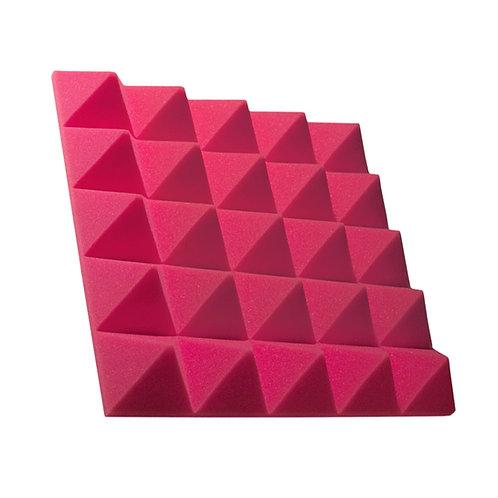 Акустическая панель пирамида Pyramid Gain Rose 70 мм 45х45см