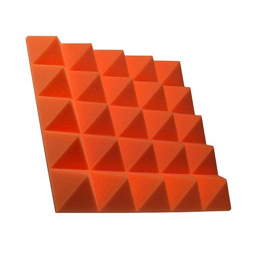 Акустическая панель пирамида Pyramid Gain Orange 70 мм 45х45см
