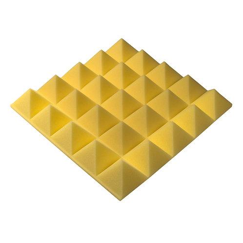 Акустическая панель Pyramid Gain Yellow 70 мм 45х45см