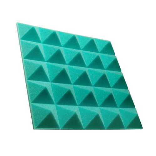 Акустическая панель пирамида Pyramid Gain Green 50 мм 45х45см