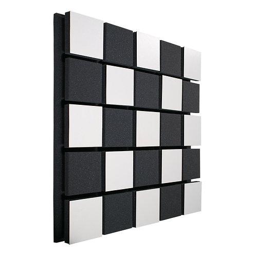 Акустическая панель Ecosound Tetras Acoustic Wood White 50x50см 33мм цвет белый