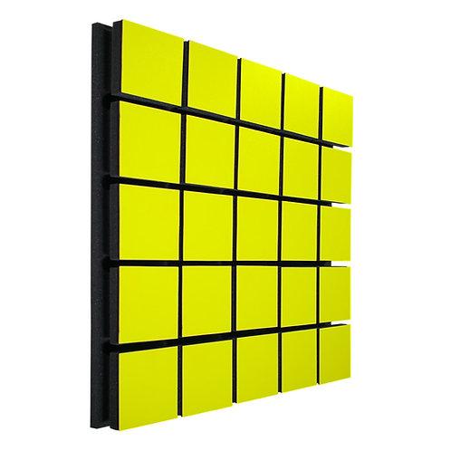 Акустическая панель Ecosound Tetras Wood Yellow 50x50см 73мм цвет жёлтый