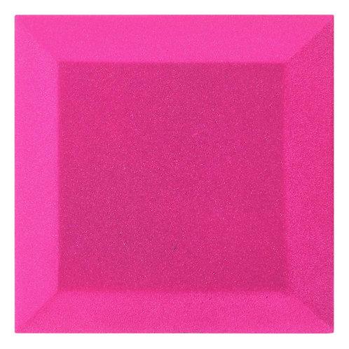 Бархатная Акустическая панель Ecosound Velvet Pink 25х25х5см