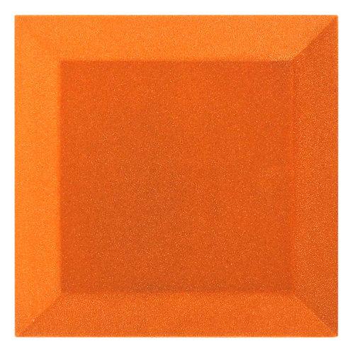 Бархатная Акустическая панель Ecosound Velvet Orange 25х25х5см