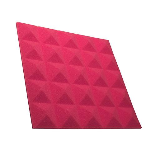 Акустическая панель пирамида Pyramid Gain Rose 30 мм 45х45см