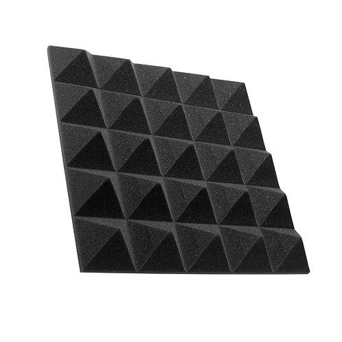 Акустическая панель пирамида Pyramid Gain Black 50 мм 45х45см