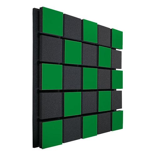 Акустическая панель Ecosound Tetras Acoustic Wood Green 50x50см 73мм зелёный