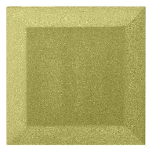 Бархатная Акустическая панель Ecosound Velvet Light Green 25х25х5см