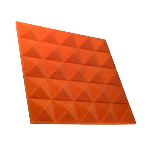 Акустическая панель пирамида Pyramid Gain Orange 30 мм 45х45см