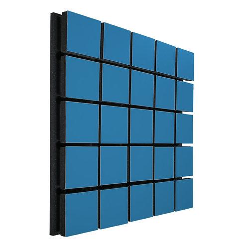 Акустическая панель Ecosound Tetras Wood Blue 50x50см 73мм цвет синий