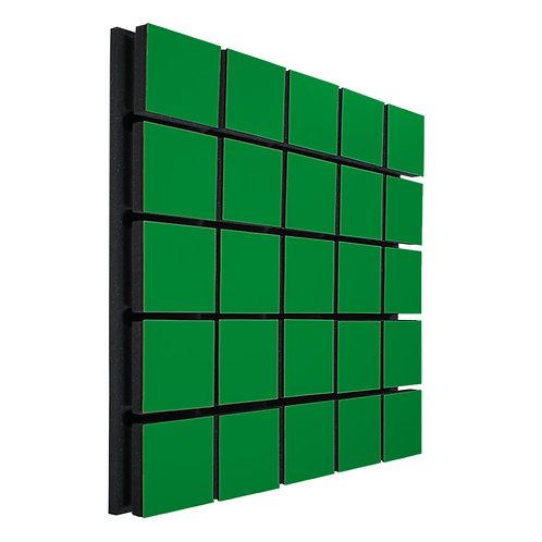 Акустическая панель Ecosound Tetras Wood Green 50x50см 73мм цвет зелёный