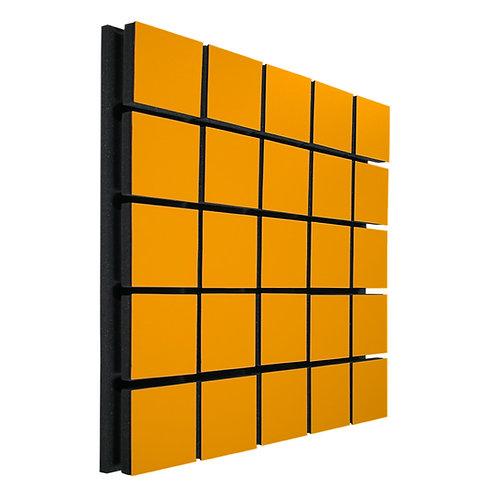 Акустическая панель Ecosound Tetras Wood Orange 50x50см 73мм цвет оранжевый