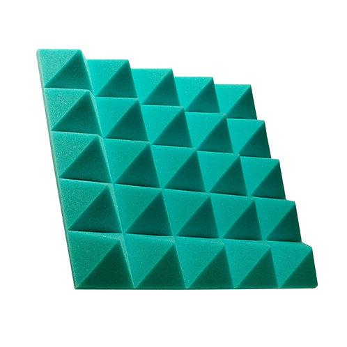 Акустическая панель пирамида Pyramid Gain Green 70 мм 45х45см