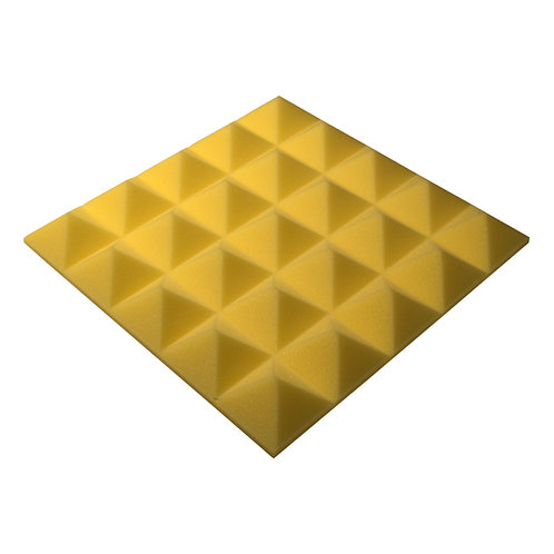 Акустическая панель Pyramid Gain Yellow 50 мм 45х45см