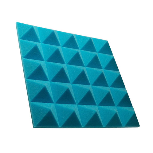 Акустическая панель пирамида Pyramid Gain Blue 50 мм 45х45см