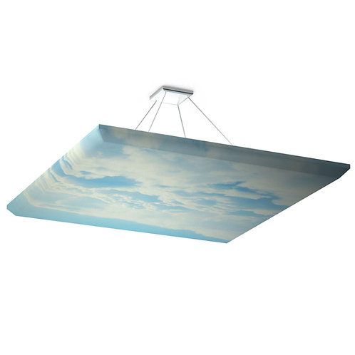 Акустическая подвесная звукопоглощающая панель Quadro Sky.