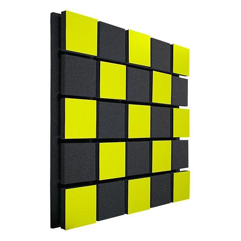 Акустическая панель Ecosound Tetras Acoustic Wood Yellow 50x50см 33мм жёлтый