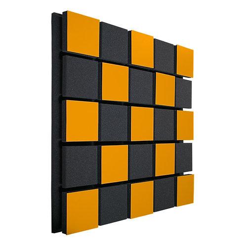 Акустическая панель Ecosound Tetras Acoustic Wood Orange 50x50см 33мм оранжевый