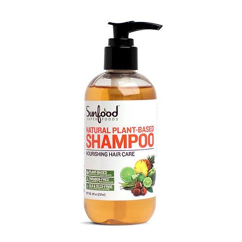 Natural Shampoo, 8 fl.oz, Plant-Based, Vegan