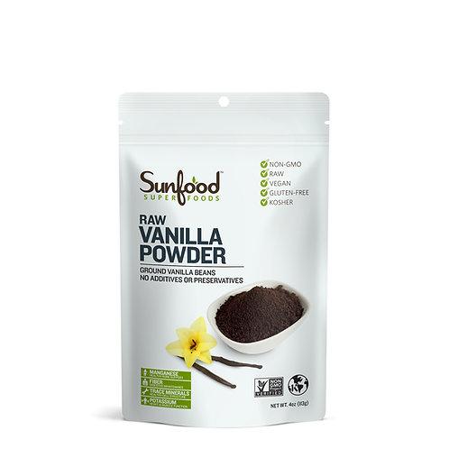 Vanilla Powder, 4oz, Raw