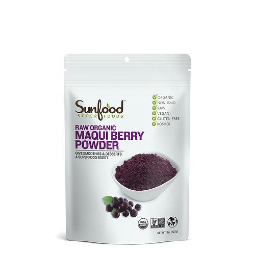 Maqui Berry Powder, 8oz, Organic, Raw
