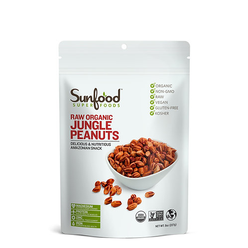 Jungle Peanuts, 8oz, Raw, Organic