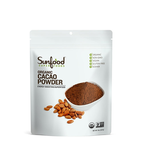 Cacao Powder, 8oz, Organic