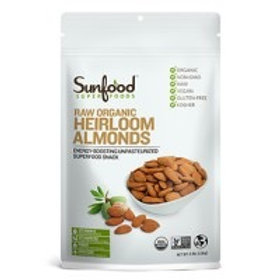 Almonds, Shelled, 2.5lbs, Organic, Raw
