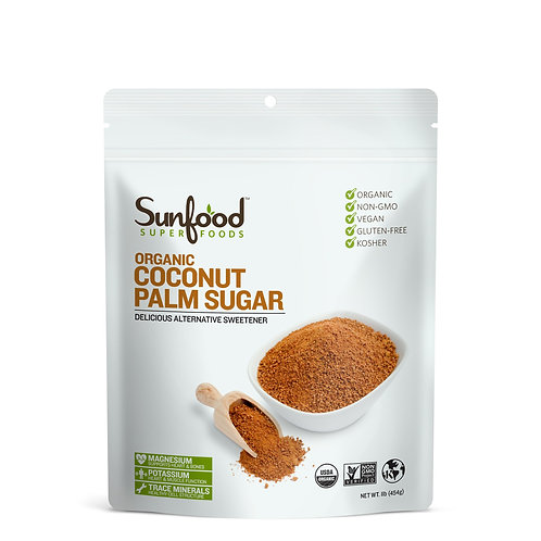 Coconut Palm Sugar, 1lb, Organic