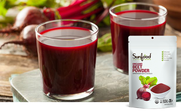 Beet Powder - Sunfood Superfoods