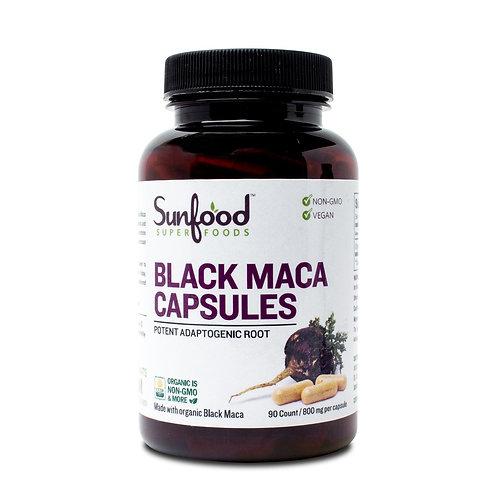 Black Maca Capsules, 800mg | 90ct