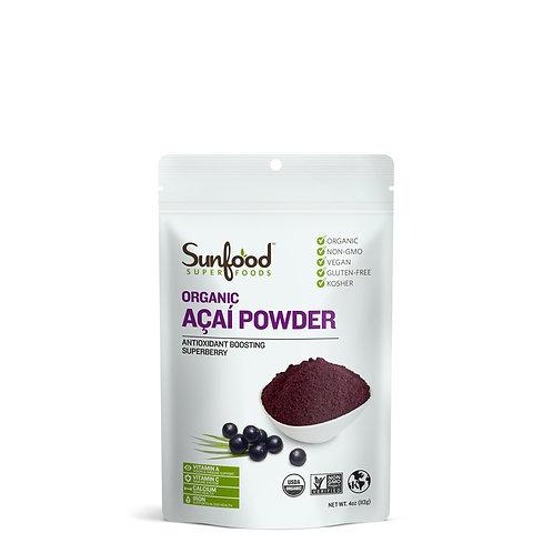 Acai Powder, 4oz, Organic