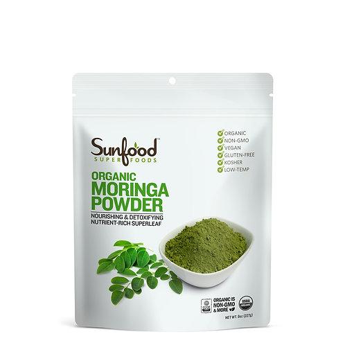 Moringa Powder, 8oz, Organic, Raw