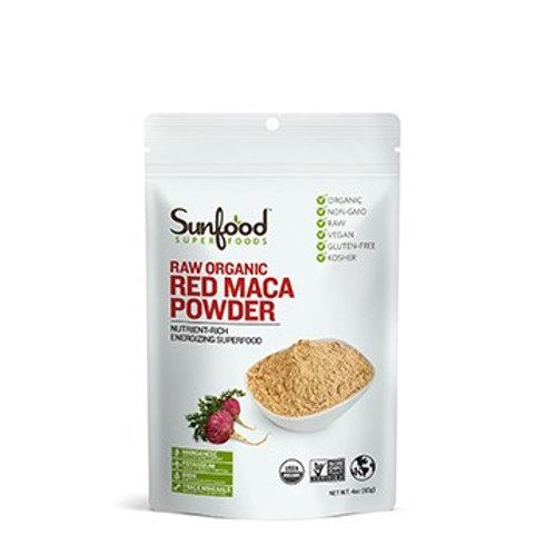 Red Maca Powder, 4oz, Organic, Raw