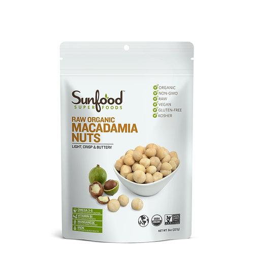Macadamia Nuts, 8oz, Raw, Organic