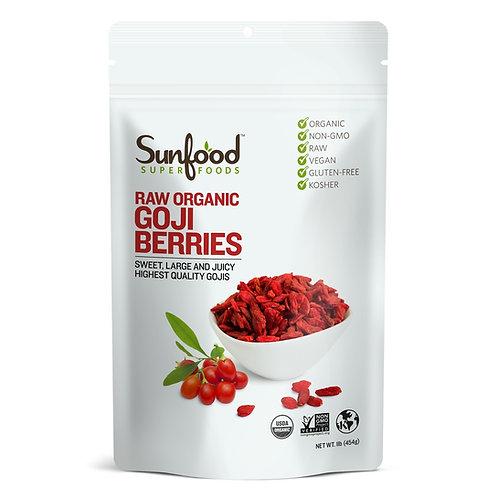 Goji Berries 1lb, Organic