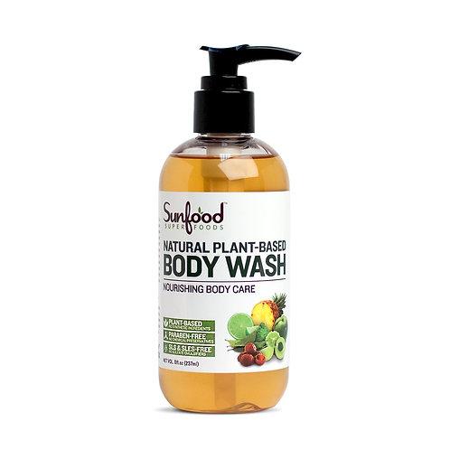 Natural Body Wash, 8 fl.oz, Plant-Based, Vegan