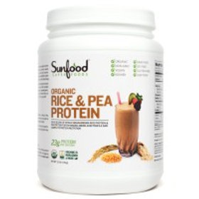 Rice & Pea Protein 50/50 Blend, 2.5lb Tub, Organic