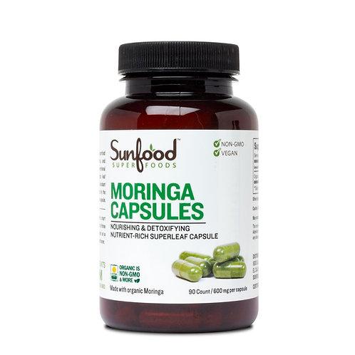 Moringa Capsules, 600mg I 90ct, Organic