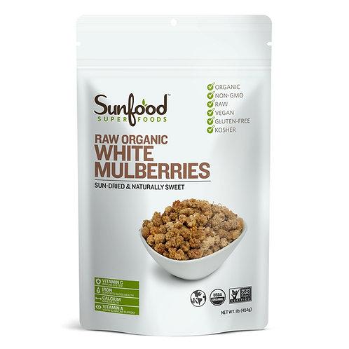 Mulberries, White, Organic 8oz